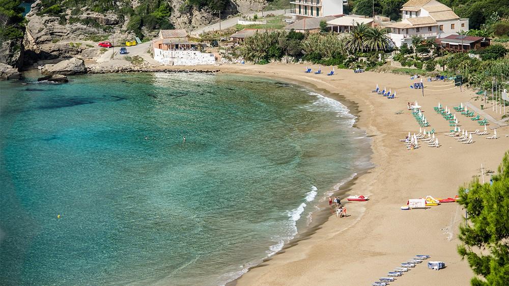 Pelekas Beach Corfu - Kontogialos